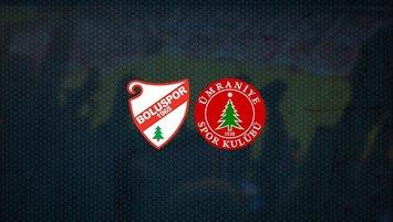 Boluspor - Ümraniyespor maçı saat kaçta ve hangi kanalda?