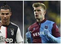 İtalya'dan çarpıcı detay! Alexander Sörloth ve Cristiano Ronaldo...