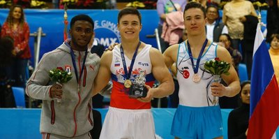 Cimnastikte bronz madalya