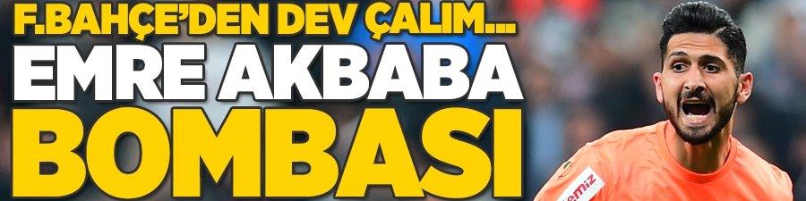 Fenerbahçe'den Galatasaray'a dev çalım! Emre Akbaba...