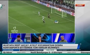 """""""Kocaman'dan sonra Konyaspor'a gittiğimde veriler silinmişti"""""""