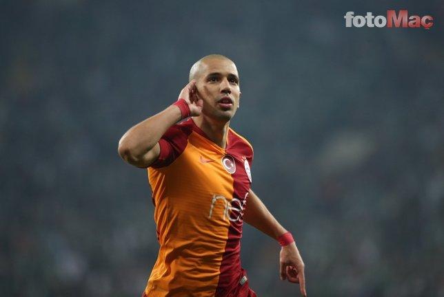 Galatasaraylı Feghouli'den derbi öncesi Fenerbahçelileri kızdıracak sözler!