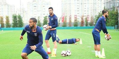 Medipol Başakşehir'de Galatasaray maçı hazırlıkları