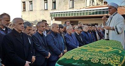 Oğuz Çetin'in vefat eden babası defnedildi