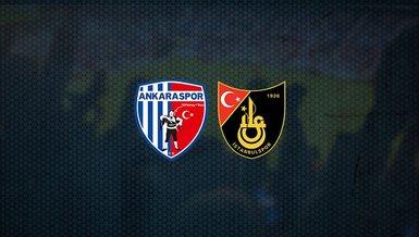 Ankaraspor - İstanbulspor maçı ne zaman, saat kaçta ve hangi kanalda canlı yayınlanacak? | TFF 1. Lig