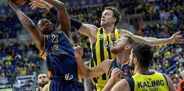 Fenerbahçe, Gran Canaria'yı 97-72 mağlup etti