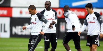 Beşiktaş'ta derbi mesaisi sürüyor