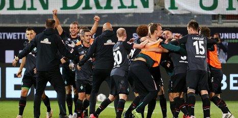 Werder Bremen Bundesliga'da kaldı!