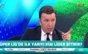 """""""Galatasaray ilk yarıyı Fenerbahçe'nin üzerinde bitirebilir"""""""