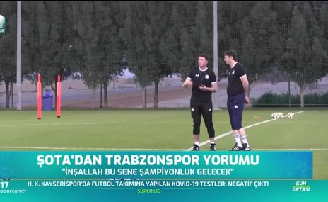 Şota'dan Trabzonspor ve Sörloth yorumu