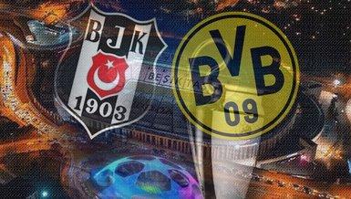 Beşiktaş Dortmund maçı - CANLI   Beşiktaş - Dortmund maçı ne zaman? Saat kaçta ve hangi kanalda canlı yayınlanacak? İlk 11'ler...   Beşiktaş - Dortmund Şampiyonlar Ligi maçı