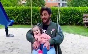 Marcelo Saracchi'nin çocuğu ile keyifli anları | İZLEYİN