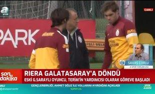 Albert Riera Galatasaray'a döndü