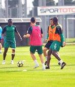 Bursaspor'da Kardemir Karabükspor maçı hazırlıkları