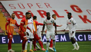 Kayserispor Trabzonspor: 0-0 (MAÇ SONUCU - ÖZET)