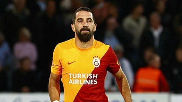Arda Turan'dan Galatasaray-Lazio maçı sonrası paylaşım