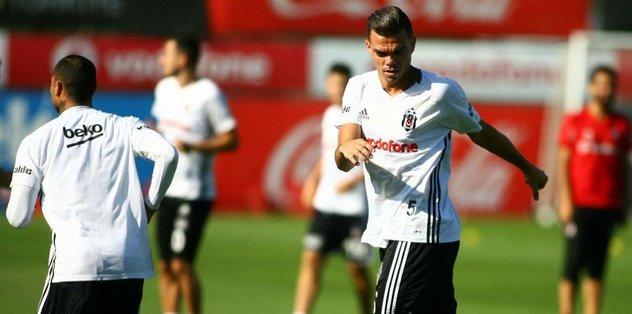 Beşiktaş'ta Bursaspor maçı hazırlıkları sürdü