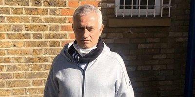 Jose Mourinho'dan anlamlı hareket! Corona virüsü...