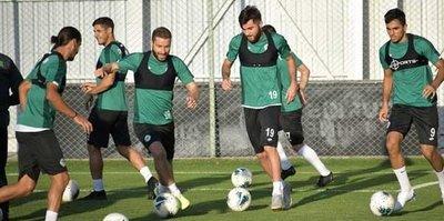 Konyaspor Yukatel Denizlispor maçına odaklandı