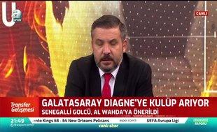Galatasaray Mbaye Diagne'yi Al Wahda'ya önerdi
