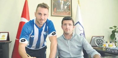 Erzurumspor'da 11. transfer sağ beke