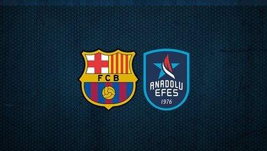 Barcelona - Anadolu Efes THY Euroleague final maçı ne zaman, saat kaçta ve hangi kanalda canlı yayınlanacak?