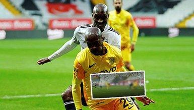 Son dakika spor haberleri: Beşiktaş Ankaragücü maçında duraklamalarda penaltı kararı! İşte o pozisyon