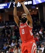 Harden'ın 57 sayısı Rockets'a yetmedi