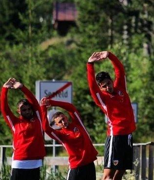Kayserispor Avusturya'da hazırlıklarını sürdürüyor