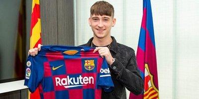 Barcelona'ya genç yetenek