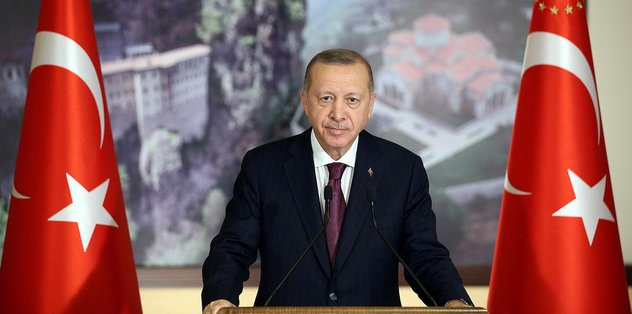 Başkan Erdoğan kutladı