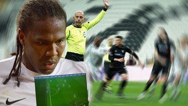Son dakika spor haberi: Beşiktaş Denizlispor maçında Rodallega'nın golü VAR'a takıldı! İşte o pozisyon...
