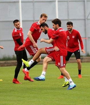 Sivasspor Galatasaray maçına hazır