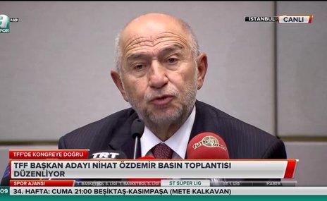 """Nihat Özdemir: """"VAR kayıtlarının açıklanmasını düşünmüyoruz"""""""