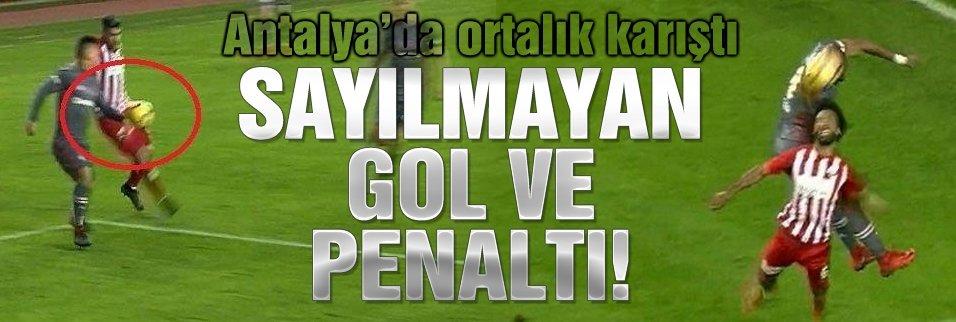 Bir gol bir penaltı güme gitti!