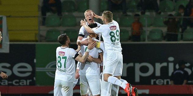 Konyaspor haftalar sonra kazandı!