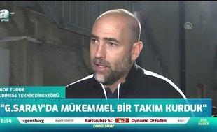 """""""Galatasaray'da mükemmel bir takım kurduk"""""""