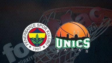 Fenerbahçe Beko - Unics Kazan maçı ne zaman? Saat kaçta? Hangi kanalda canlı yayınlanacak? Şifresiz mi? | THY Eruoleague