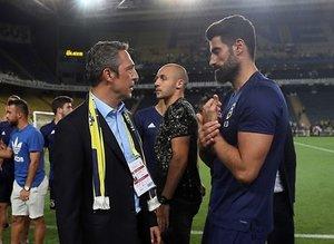 Volkan Demirel ile Ali Koç arasında özel görüşme!
