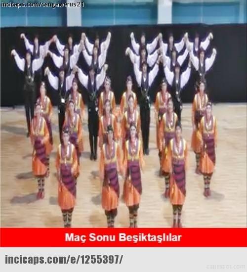 G.Saray-Beşiktaş caps'leri güldürüyor!