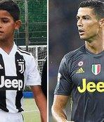 Cristiano Ronaldo Jr. ilk maçında 4 gol attı