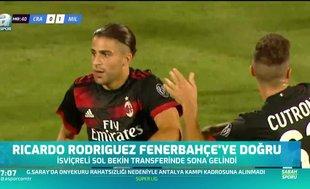 Ricardo Rodriguez Fenerbahçe'ye doğru