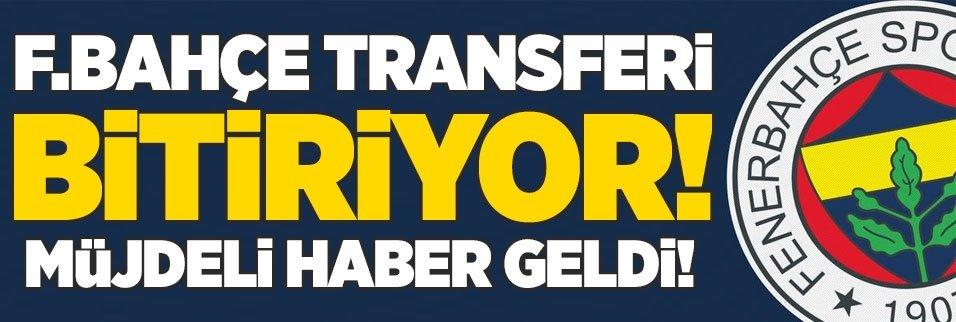 F.Bahçe transferi bitiriyor! Müjdeli haber geldi!