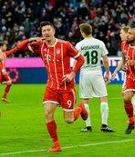 Bayern Münih, Werder Bremen'i sahadan sildi!