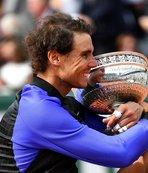 Rafael Nadal'dan Fransa'da rekor