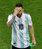 Messi milli takım kadrosunda yer almadı