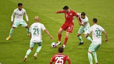Bayern Münih 10 maç sonra puan kaybetti!   Bayern Münih Werder Bremen: 1-1 (MAÇ SONUCU - ÖZET)