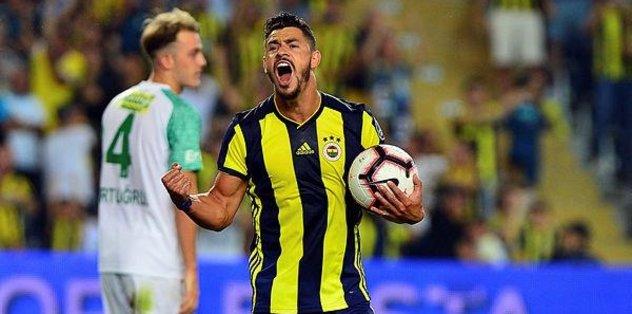Fenerbahçe'nin ilk golü Giuliano'dan