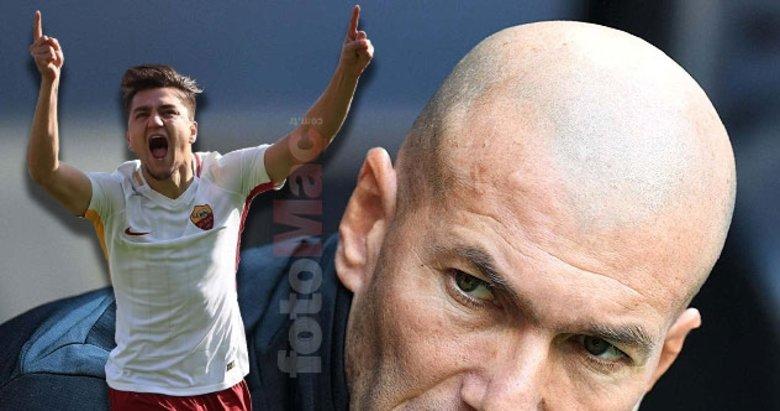 Transfer basına böyle sızdı! Cengiz Ünder ve Zidane...Son dakika haberleri