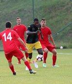 Yeni Malatyaspor hazırlık maçında tek golle güldü!